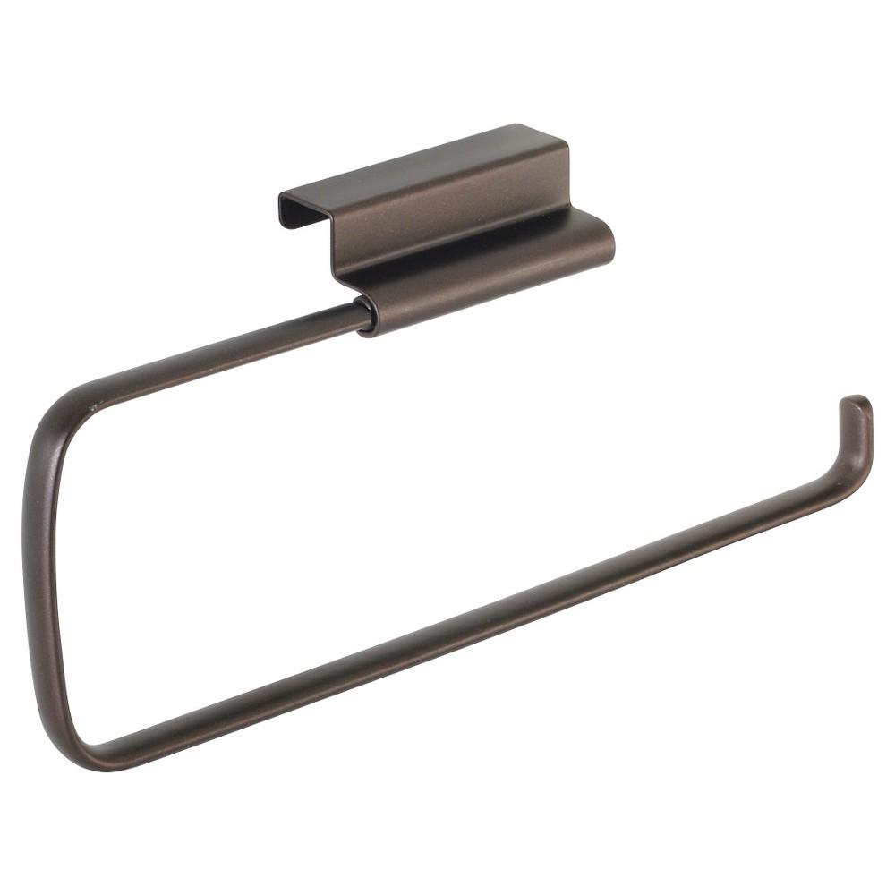 InterDesign Axis Over-the-Cabinet Steel Paper Towel Holder - Bronze (12)