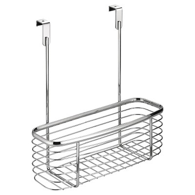 InterDesign Axis Over-the-Cabinet X2 Storage Basket - Chrome (11 )