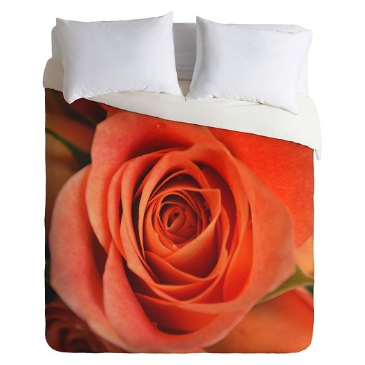 Allyson Johnson Rose Bud Lightweight Duvet Cover Deny
