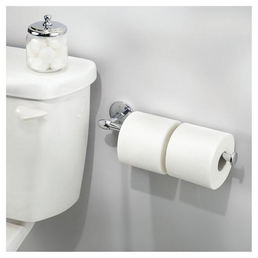 Wall Mount Paper Towel Holder interdesign orbinni wall mount paper towel holder - chrome (14