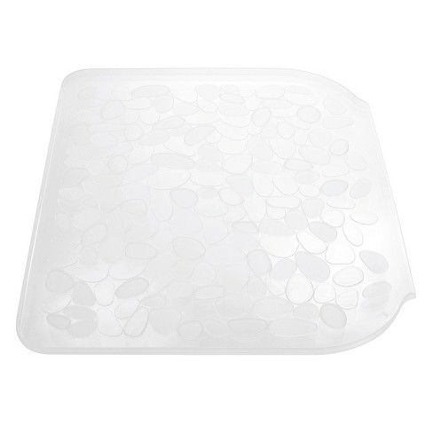 InterDesign Pebblz Plastic Sink Drainboard - Clear (Large) - image 1 of 3