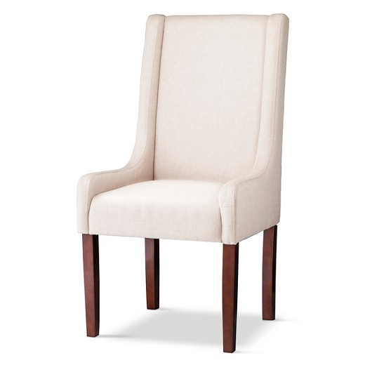 Charlie swoop arm dining chair target Target dining chairs
