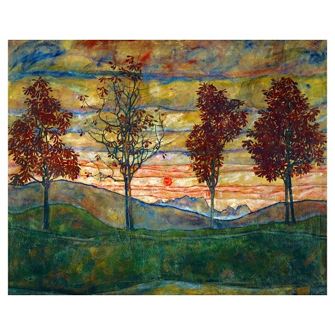 Art.com - Four Trees, c.1917 - image 1 of 1