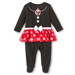 Baby Girls' Minnie Mouse Coveralls