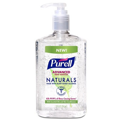 Purell Naturals Hand Sanitizer - 12oz