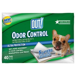 Floor Protection Pads Out! Dog Cotton White