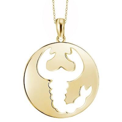 Women's Scorpio Zodiac Pendant (18 )