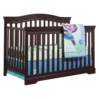 Broyhill Kids Bowen Heights 4-in-1 Convertible Crib - Espresso