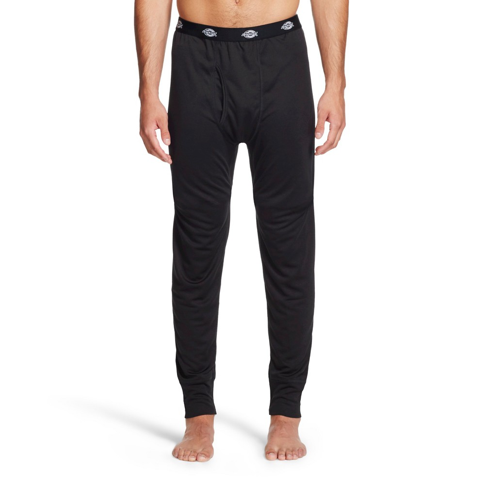 Dickies - Men's Lightweight Performance Tech Mesh Thermal Pants Black XL