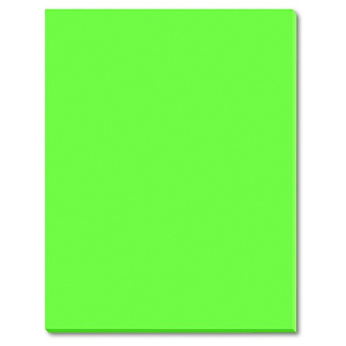 Pacon Riverside Construction Paper, 76 lbs., 18 x 24 - Green (50 Sheets Per Pack)