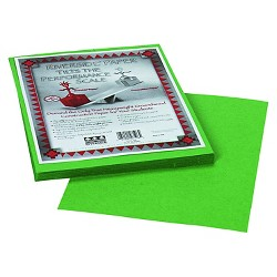 Pacon® Riverside Construction Paper, 76 lbs., 9 x 12 - Green (50 Sheets Per Pack)
