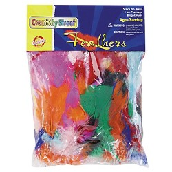 Creativity Street® Bright Hues Feather - Multi-Colored