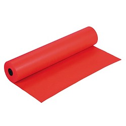 """Pacon® Rainbow Duo-Finish Colored Kraft Paper, 35 lbs., 36""""x1000' - Flame"""