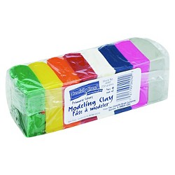 Chenille Kraft® Modeling Clay Assortment, 27 1/2g each - Multi-Colored