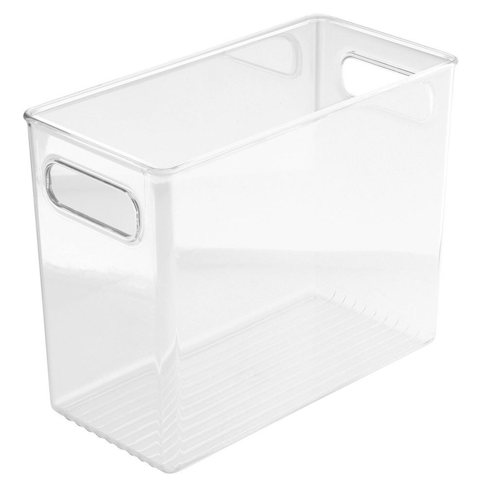 InterDesign Fridge and Pantry Plastic Storage Binz – Clear (8)