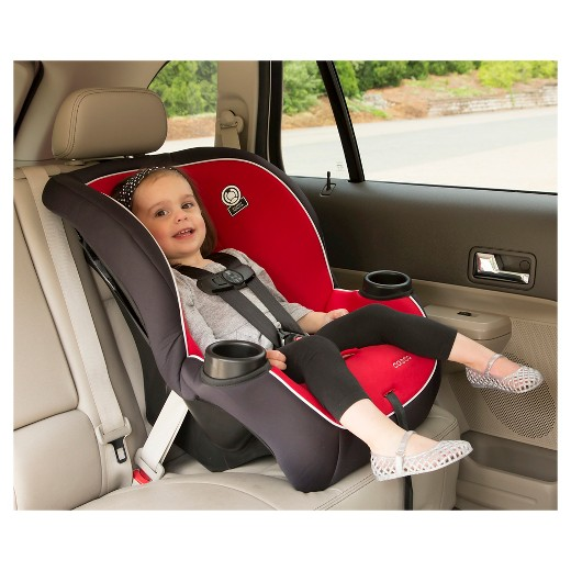 cosco apt 50 convertible car seat vibrant red target. Black Bedroom Furniture Sets. Home Design Ideas