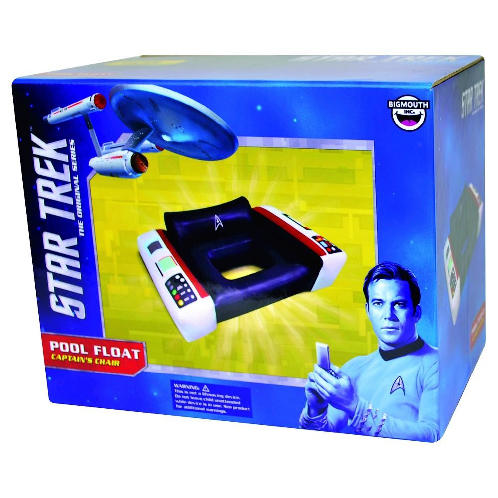 BigMouth Inc Giant Star Trek Captain's Chair Pool Float -...