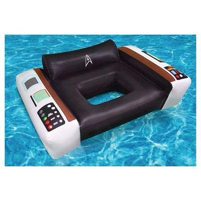BigMouth Inc Giant Star Trek Captainu0027s Chair Pool Float   4 Feet