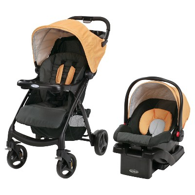 Graco Verb Click Connect Travel System - Sunshine