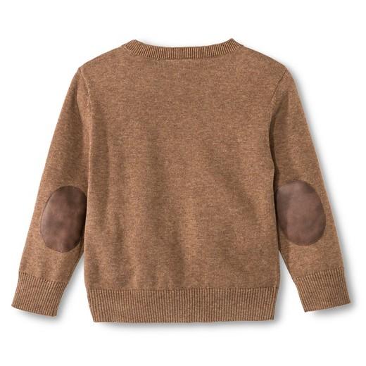Toddler Boys' Crew Neck Antlers Sweater - Brown 2T : Target