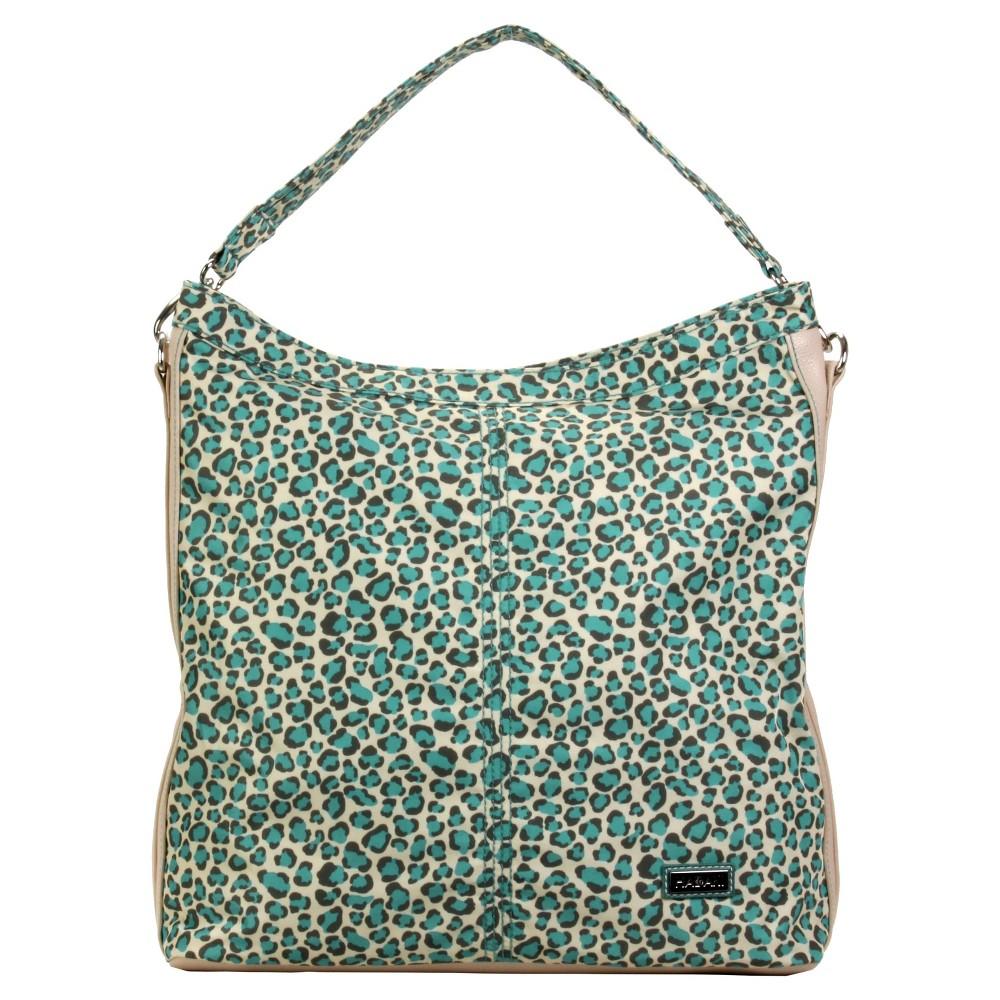 Womens Nylon Hobo Handbag, Brown