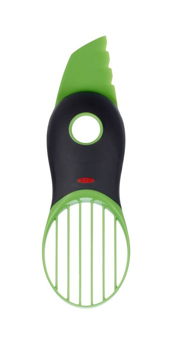 OXO 3In1 Avocado Slicer Green