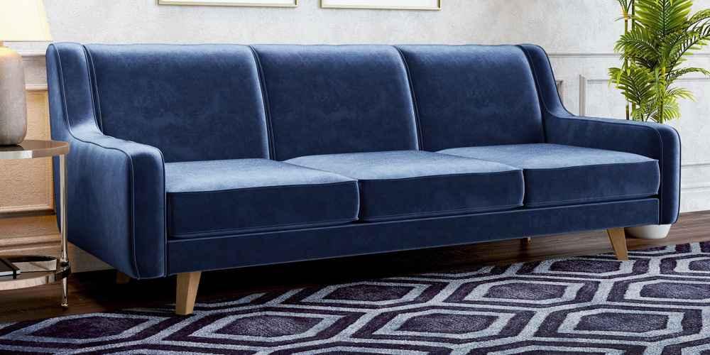 Hazel Modern Velvet Sofa - AF Lifestyle