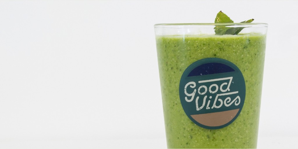 Pint Glass Good Vibes 16oz - Room Essentials™