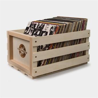 Crosley Record Storage Crate Wooden