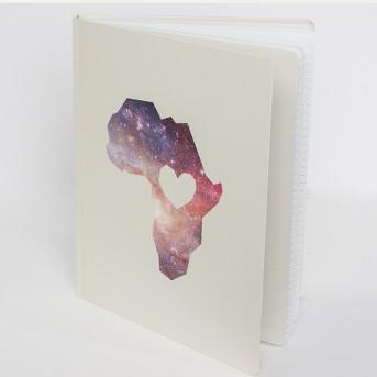 Well Worn Africa Handcover Notebook