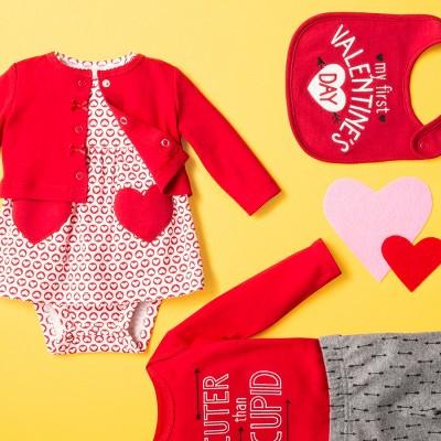 Crush Their Valentineu0027s Look. Baby Cloud Island Clothing