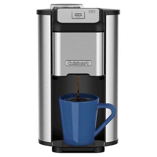 Cuisinart Single Cup Grind & Brew Coffee Maker - Stainless Steel DGB-1 : Target
