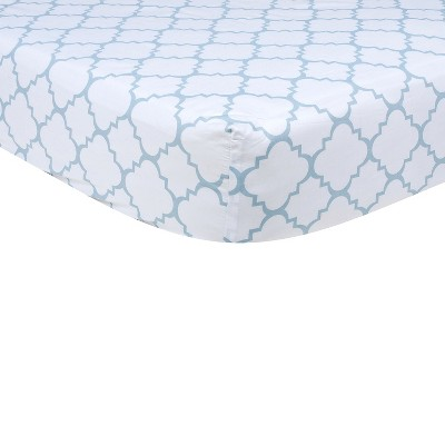 Baby Fitted Sheet Trend Lab White
