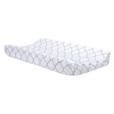 Trend Lab Changing Pad Covers - Blue Lattice