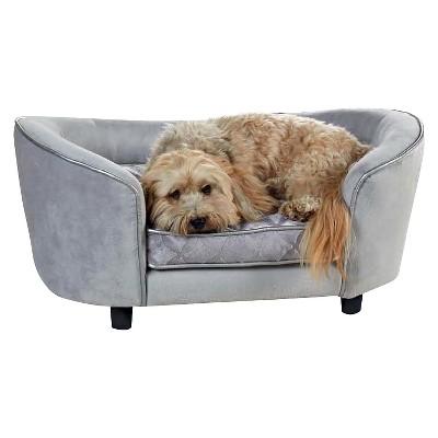 Enchanted Home Pet Quicksilver Pet Bed - Silver
