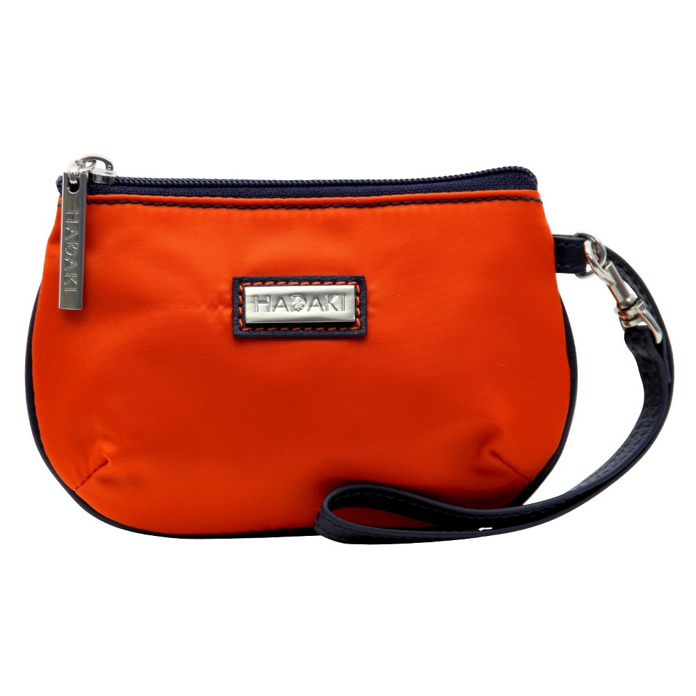 Womens Coated ID Wristlet Handbag, Blue