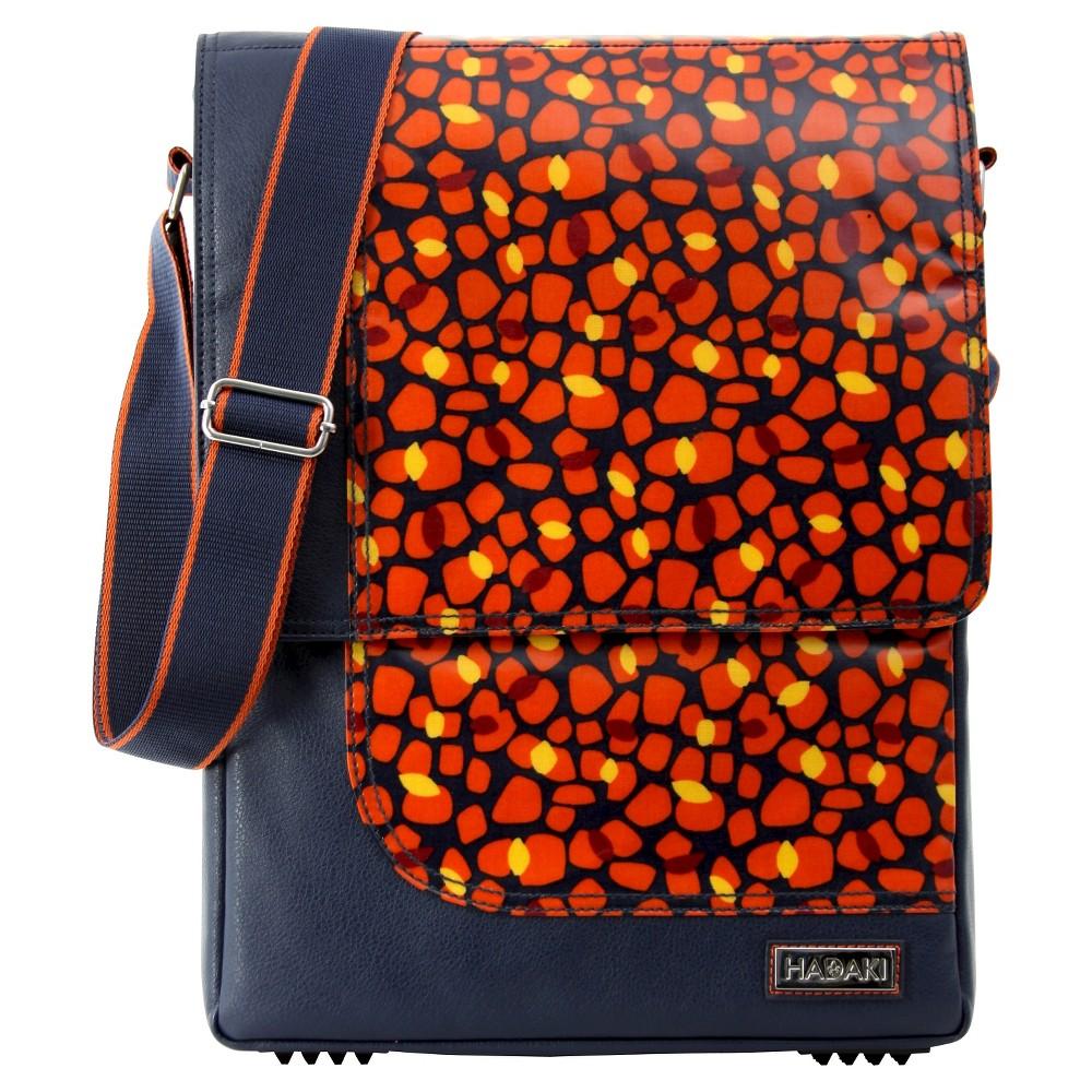 Womens 15.4 Nylon Laptop Handbag, Multi-Colored/Orange/Yellow/Black