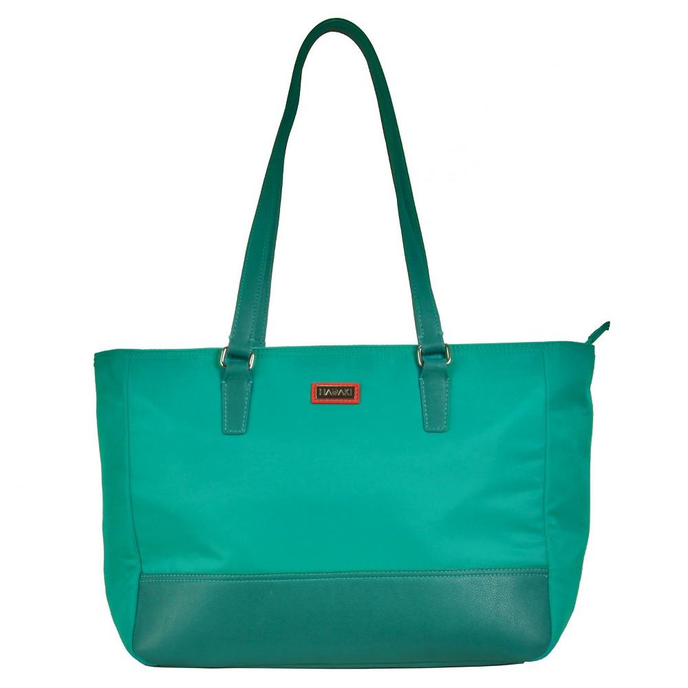 Womens Nylon Cassandra Tote Handbag, Size: Small, Vivid Teal