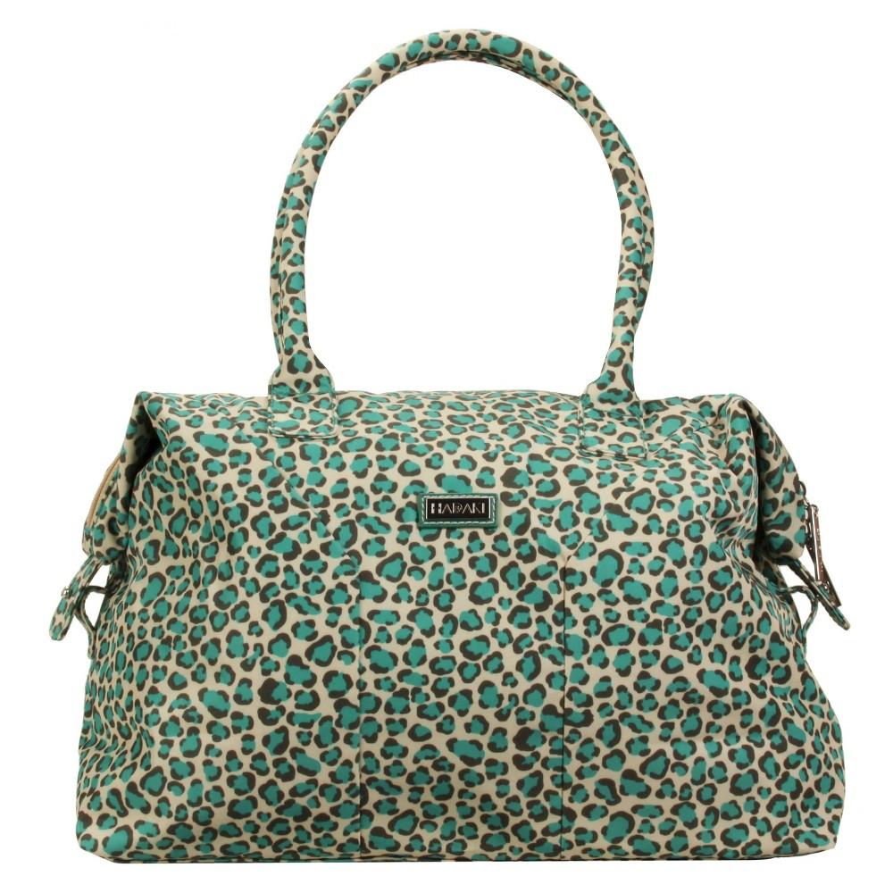 Womens Nylon Satchel Handbag, Size: Small, Brown