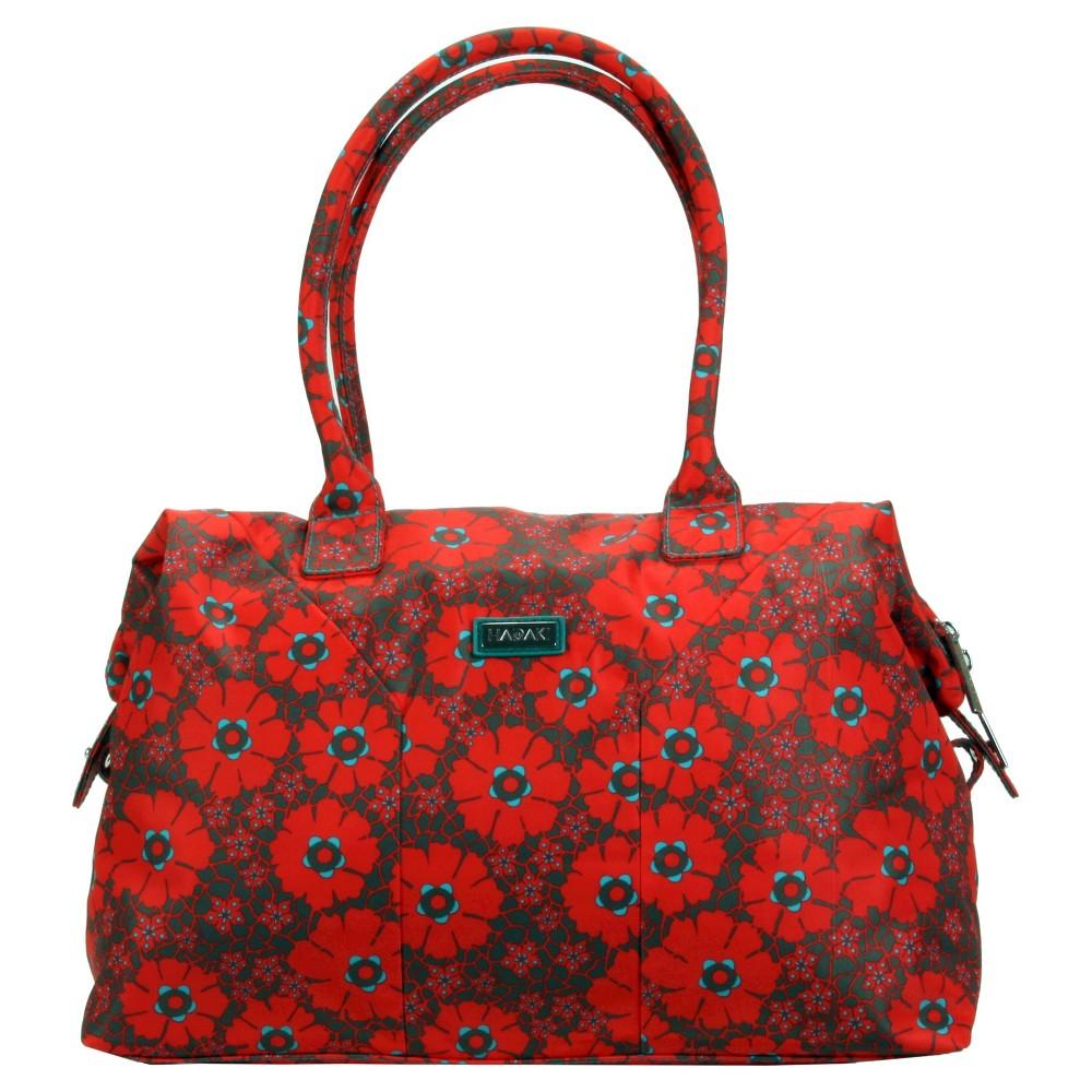Womens Nylon Satchel Handbag, Size: Small, Multi-Colored