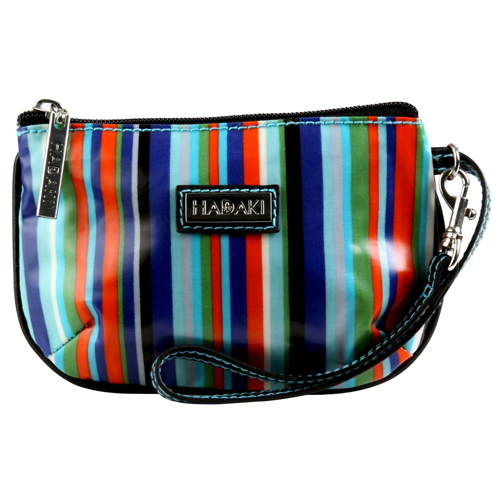 Womens Coated ID Wristlet Handbag, Multi-Colored/Fiesta Red/Blue/Blue