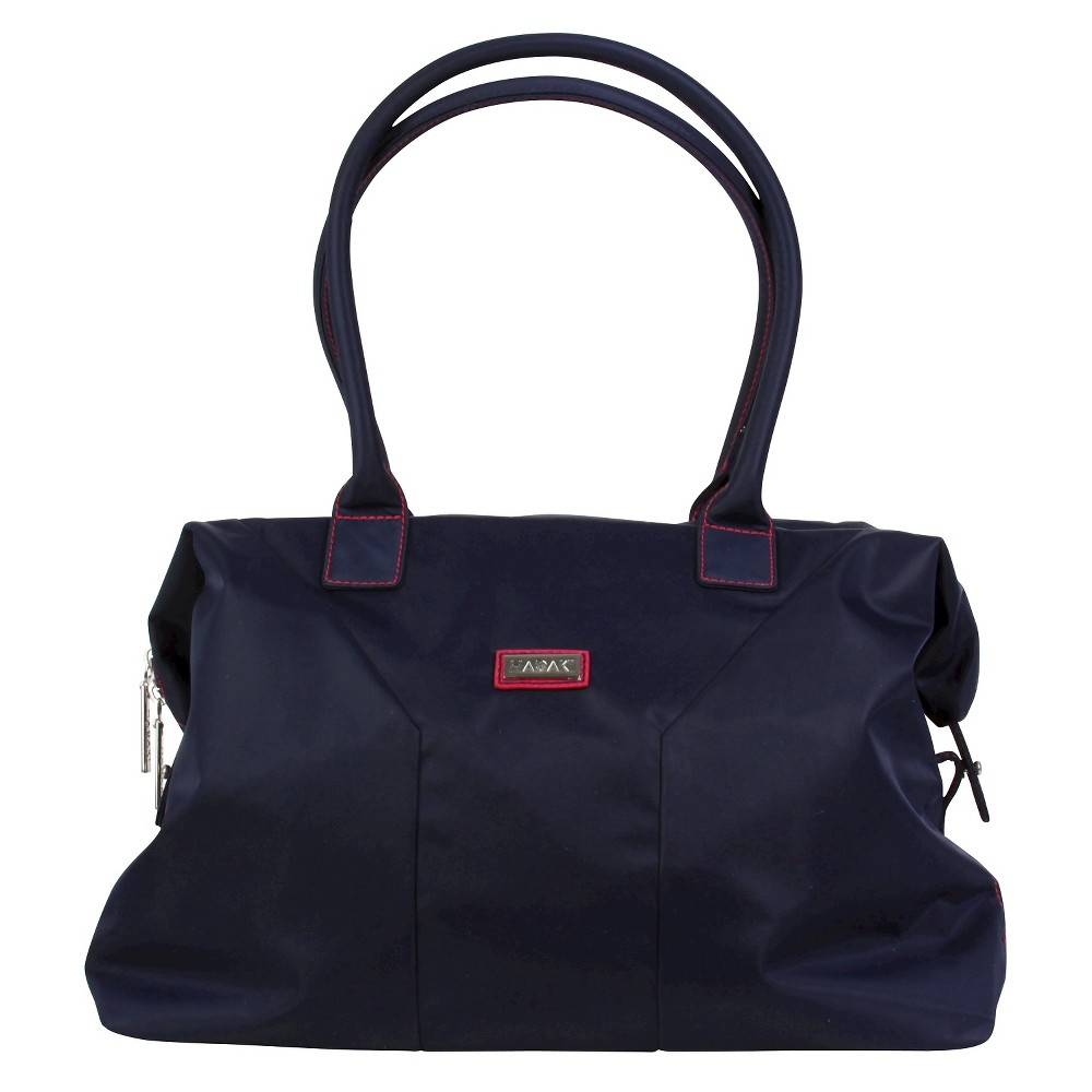 Womens Nylon Satchel Handbag, Size: Small, Blue