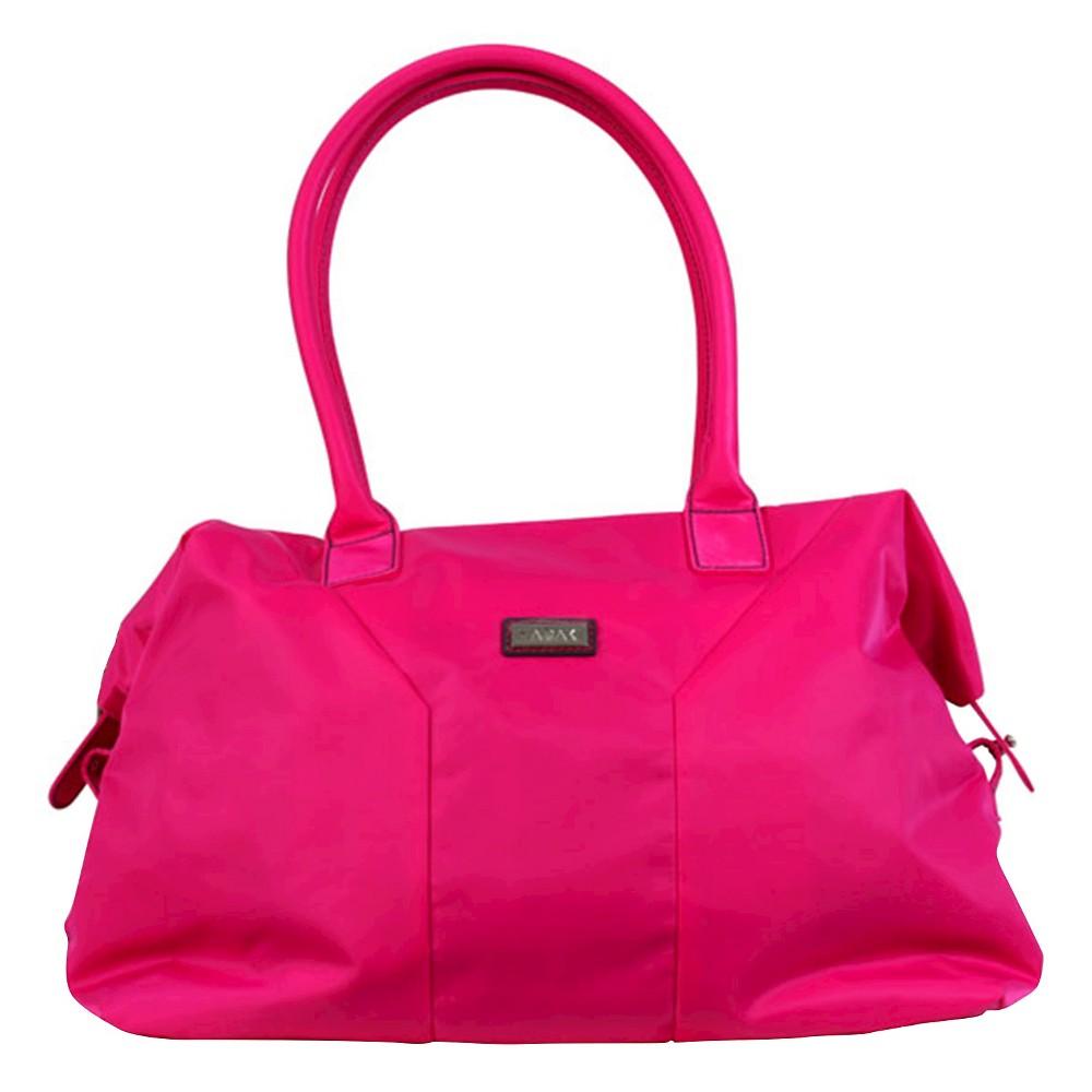 Womens Nylon Satchel Handbag, Size: Small, Pink