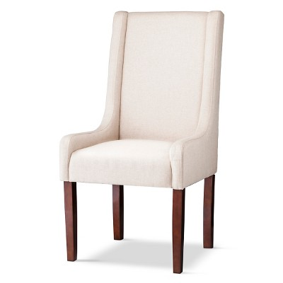 charlie swoop arm dining chair reg