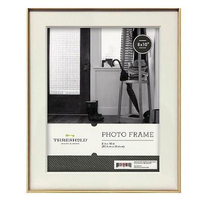 Metal Frame - Gold - 8x10 - Threshold™