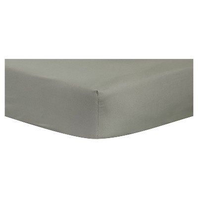 Baby Fitted Sheet Trend Lab Gray