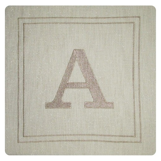 Monogram Throw Pillow Cover - Threshold : Target
