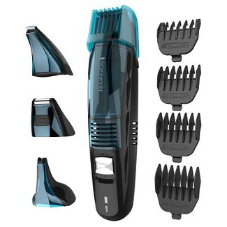 Remington Lithium Power Series 4-in-1 Mens Rechargeable Electric Trimmer with Vacuum - VPG6530A