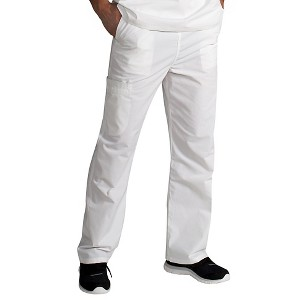 IguanaMed Unisex Stealth M-Series Cargo Scrub Pant - Winter White (XL)