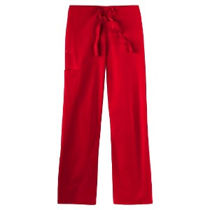 IguanaMed Unisex Stealth M-Series Cargo Scrub Pant - Macintosh Red(S)